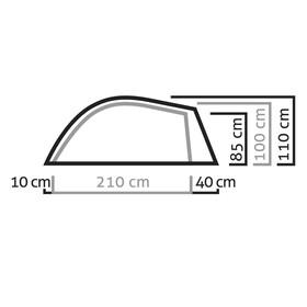 Salewa Litetrek II Tent light grey/cactus